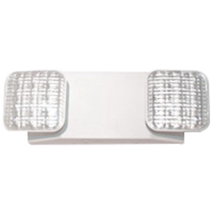 Barron Lighting LED-90-R Universal J-Box Mount 2-Head LED Remote Emergency Light Fixture 1.1 Watt 120/277 Volt AC White Exitronix®