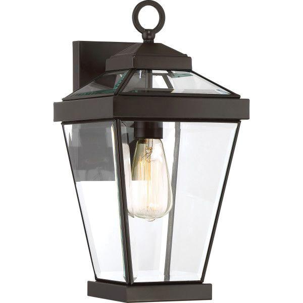 Quoizel Lighting RAV8408WT 1-Light Wall Lantern 100-Watt