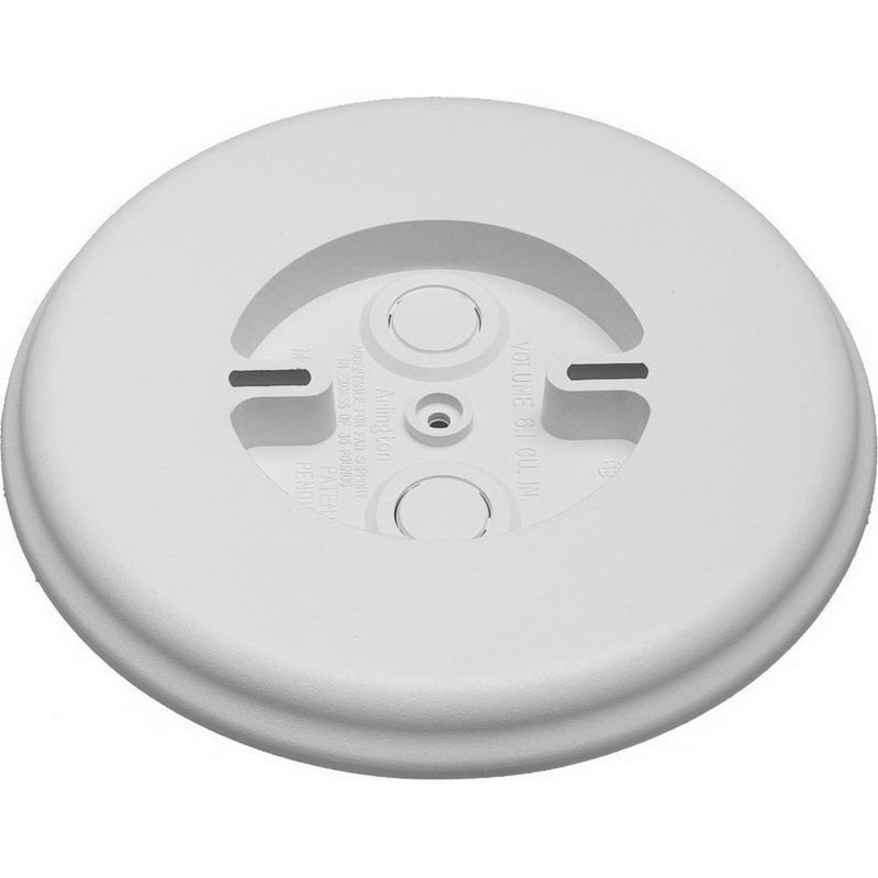 Arlington MB8 Plastic Ceiling Medallion Mounting Block With Built-In Box 8 Inch x 0.74 Inch 6.1 Cubic-Inch