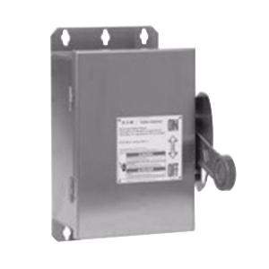 Eaton DH361UWK 3 Wire 3 Pole Non-Fusible K Series Heavy-Duty Safety Switch 600 Volt AC 30 Amp NEMA 4X