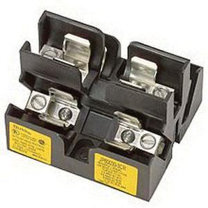 P58332 bussmann jp60030 3cr pyramid style fuse block 3 pole 30 amp 600 volt