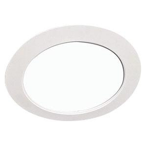 halo ot403p oversized trim ring round white 6 inch id x 8 inch od