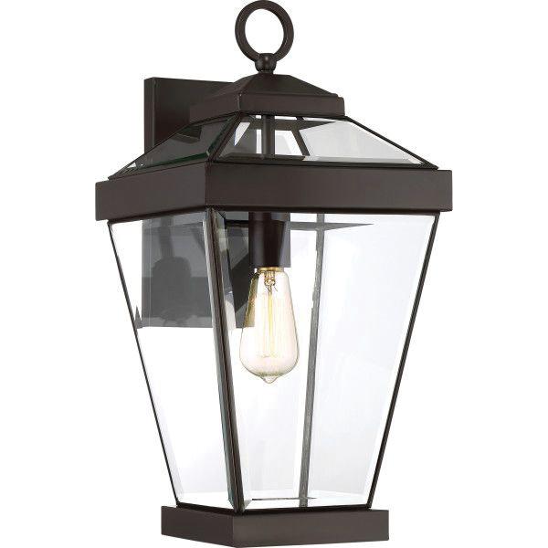 Quoizel Lighting Rav8410wt 1 Light Wall Lantern 150 Watt 120 Volt Western Bronze Ravine