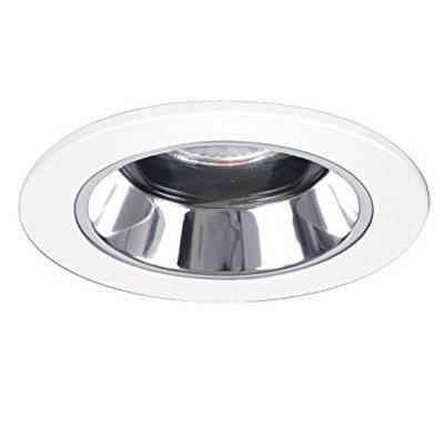 Halo 1951ps 4 Inch Adjule Shower Light Reflector Trim Round White