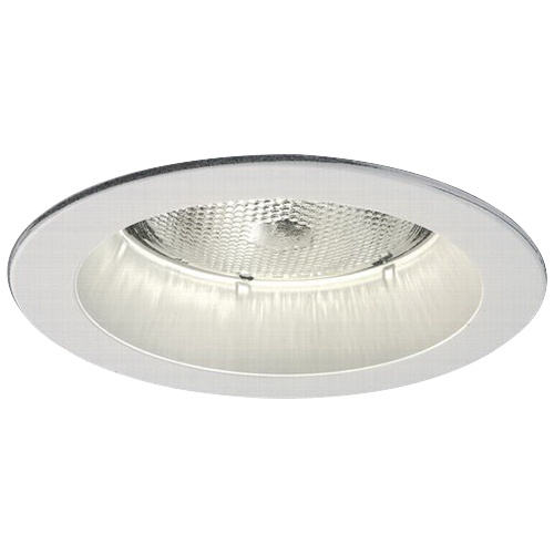 Cooper Lighting 5000P 5 Inch Splay Trim Round White Trim Ring With White  Splay Halou0026reg;