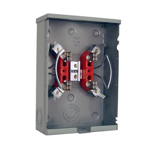 Milbank U7487-RL-TG-KK 1-Phase Ringless Meter Socket With Horn Bypass 4 Jaw  1-Position 125-Amp - Single Meter Sockets - Metering & Meter Sockets -  Power Distribution - Power Distribution | Electrical Wholesalers, Inc.Electrical Wholesalers, Inc.