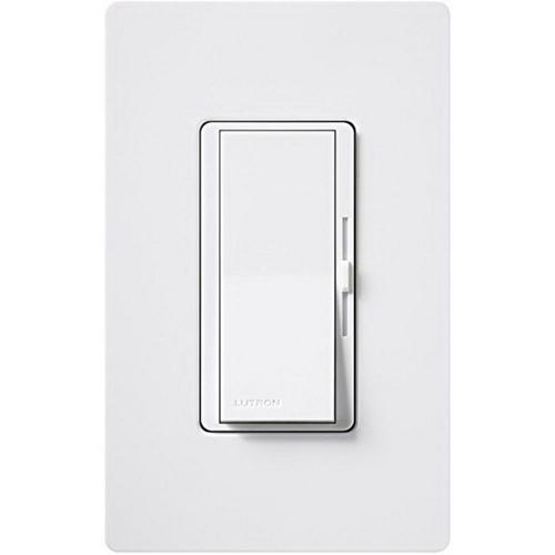 Lutron DV-10P-WH 120 Volt at 60 Hz 1-Pole Preset Dimmer With Locator Light White Diva®