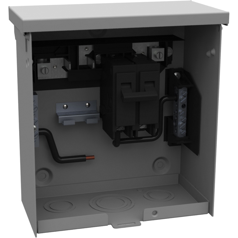 Milbank U4881 O 50gb 2 Pole Spa Box With Gfci Protection