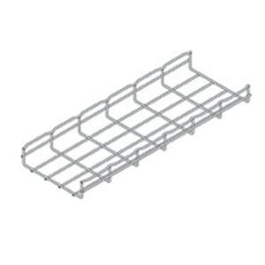 B-Line FT2X4X10 Steel Straight Section Wire Basket 118 Inch x 4 Inch x 2.38 Inch Flextray™