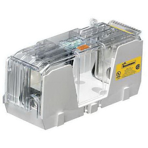 P607885 bussmann hm25100 3cr fuse block 3 pole 250 volt ac 125 volt dc