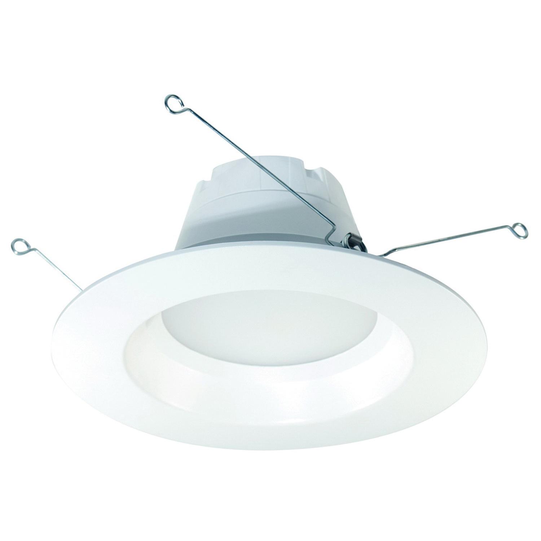 Halco Lighting DL6FR9/840/ECO/LED Eco Series Universal LED Retrofit Down Light 9 Watt Medium Base 650 Lumens 82 CRI 4000K White ProLED®