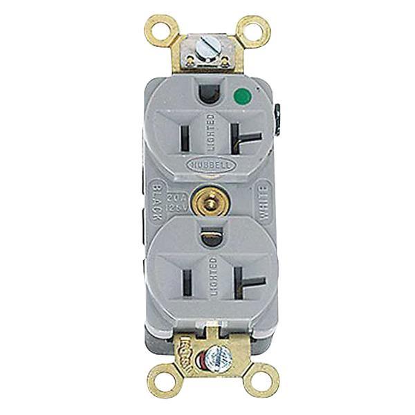 Hubbell-Wiring HBL8300HG Hospital Grade Extra Heavy-Duty Heat ...