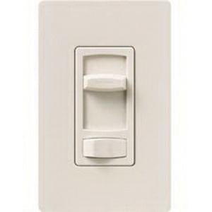 Lutron CTCL-153P-LA 120 Volt at 60 Hz 1-Pole 3-Way Dimmer Light Almond Skylark® Contour® CL™