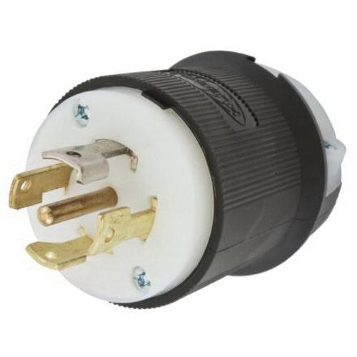 hubbell wiring hbl2821 5 wire 4 pole insulgrip twist lock plug 277 480 volt ac 30 amp black white twist lock� 30 amp 250 volt plug wiring diagram industrial locking wiring device