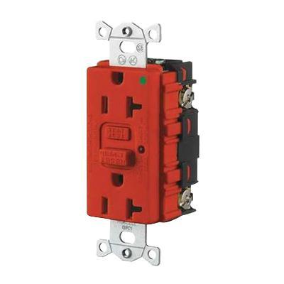 hubbell wiring gfr8300hrla commercial hospital grade gfci duplexhubbell wiring gfr8300hrla commercial hospital grade gfci duplex receptacle with led indicator 20