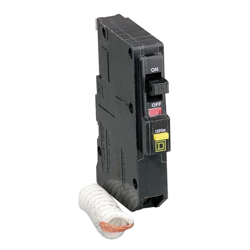 Square D QO120GFI Plug-In Mount Ground Fault Circuit Breaker 1-Pole ...