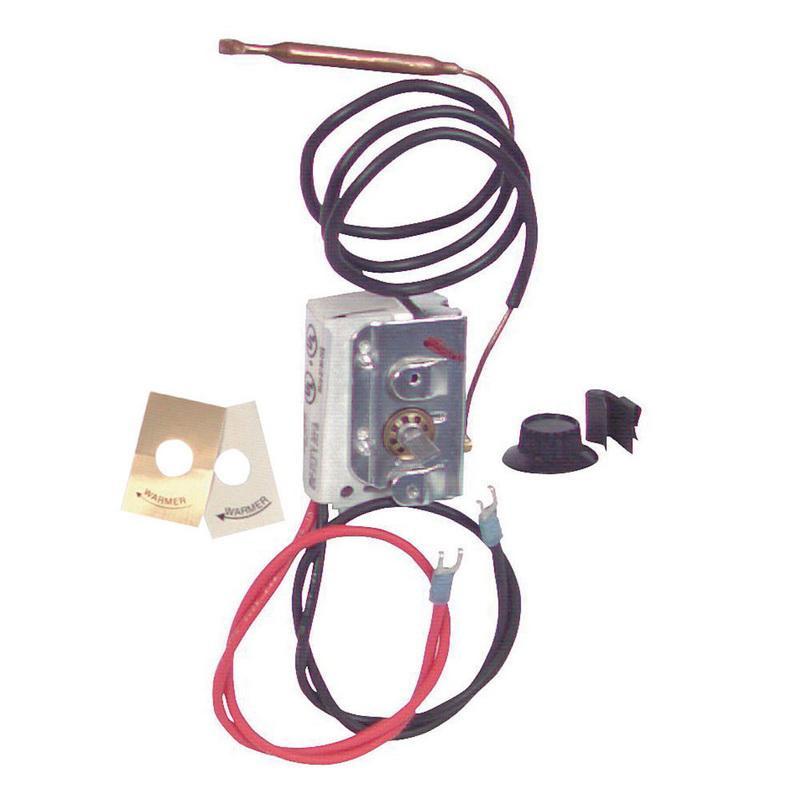 q mark uhmt1 1 pole internal thermostat kit 120 240 277 volt ac 25 rh usesi com