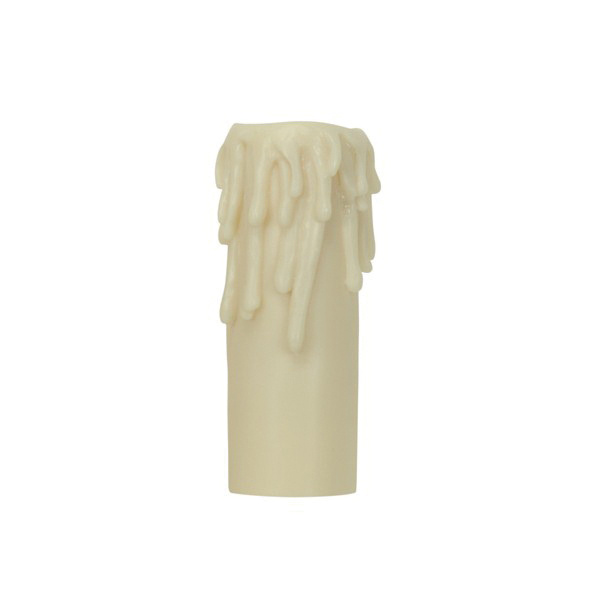 13b1bb69643 Satco 80/1628 Candle Base Cover 1/4-Inch x 1-9/16-Inch x 4-Inch Ivory For  Edison Base Lamp - Indoor Fixture Accessories - Indoor Fixtures - Lighting  ...