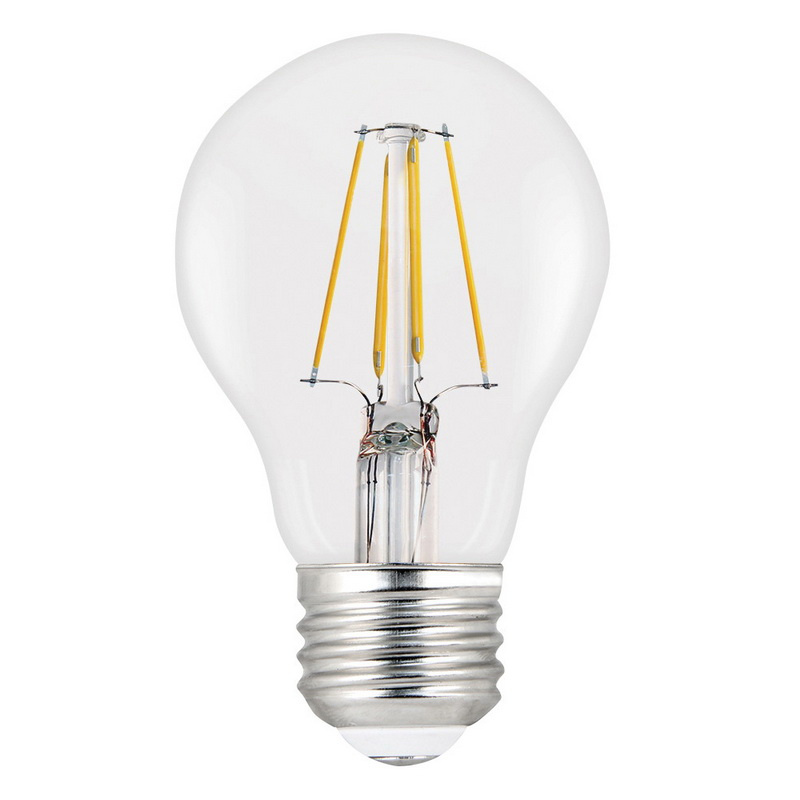 General Electric Led Bulbs: Feit Electric A1940/CL/LED/2 Dimmable A19 General Purpose