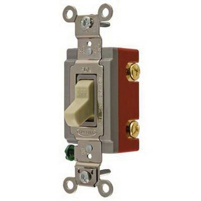Hubbell-Wiring HBL1222I 120/277-Volt AC 20-Amp 2-Pole Toggle AC Switch on
