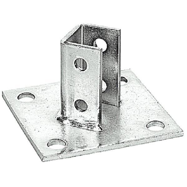 Thomas & Betts AP232-SQ GoldGalv® Steel Square Base Post Base Connector Superstrut®