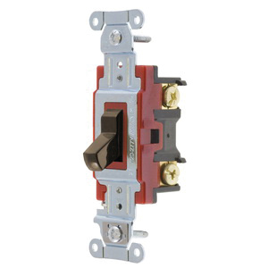 Hubbell-Wiring 1224B 2-Pole 120 - 277-Volt AC 20-Amp 4-Way ...