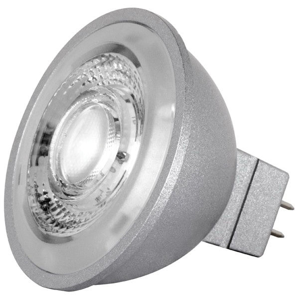 Satco S8642 Dimmable MR16 LED Lamp GU5.3 Base 490 Lumens Initial 90+ ...