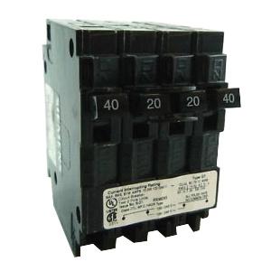 Siemens Q24020CT2 Type QT Molded Case Circuit Breaker 2-Pole 40-Amp  120/240-Volt AC