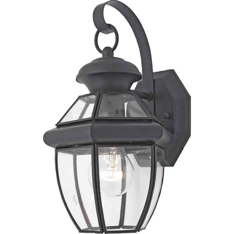quoizel lighting ny8315k 1 light outdoor wall lantern 150 watt 120