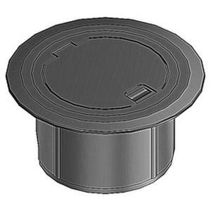 Thomas & Betts 68R-CST-BLK Plastic Recessed Service Floor Box Cover Kit 5-5/32 Inch Opening x 6-3/8 Inch Base x 6 Inch Steel City®