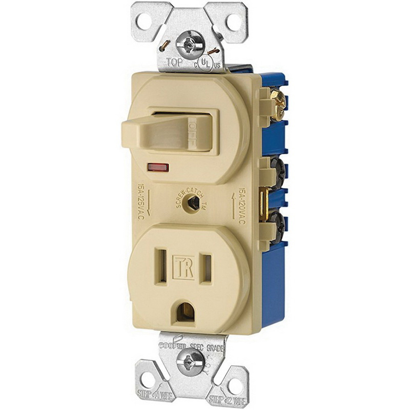 Cooper Wiring Device Tr274v 3