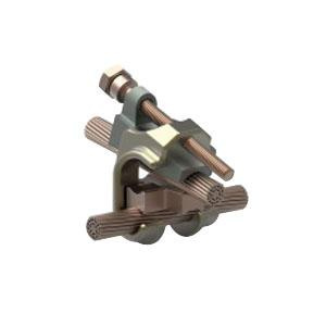Te connectivity 83748 2 galvanized steel and copper clad steel te connectivity 83748 2 galvanized steel and copper clad steel grounding earthing connector 5 greentooth Image collections