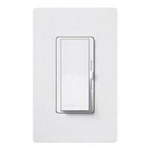 Lutron DVF-103P-WH 120 Volt AC at 60 Hz 8 Amp 1-Pole 3-Way Preset Dimmer With Locator Light White Diva®