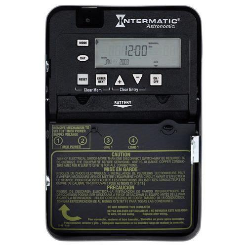 Intermatic et8015c onoff et8000 series astronomic electronic timer intermatic et8015c onoff et8000 series astronomic electronic timer switch 120208 277 volt ac 30 amp 7 days digital timers relay timers greentooth Choice Image