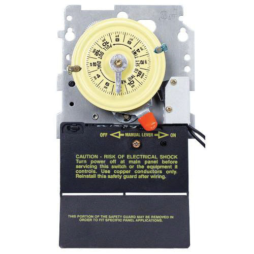 Intermatic T104 208277volt Dpst 24 Hour Mechanical Time Switch