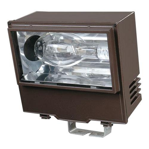 Cooper Lighting WP40 1-Light Trunnion Mount Metal Halide Flood Light 400 Watt 120 - 277 Volt Bronze Polyester Powder Coated Lumark®