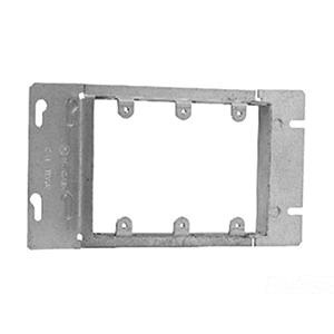 Crouse-Hinds TP653 Steel 3-Gang Gang Box Cover 8-13/16 Inch x 13/16 Inch Raised