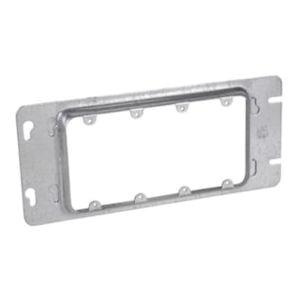 Crouse-Hinds TP661 Steel 5-Gang Gang Box Cover 12-7/16 Inch x 13/16 Inch Raised