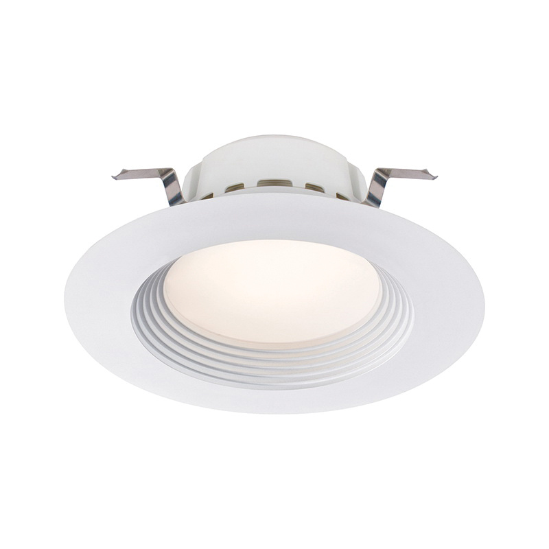 Lightolier Rd5r129301w Dimmable Ic 5 Or 6 Inch Led Retrofit Down Light 120 Volt Ac Round 18 Watt 1400 Lumens 3000k 90 Cri Matte White