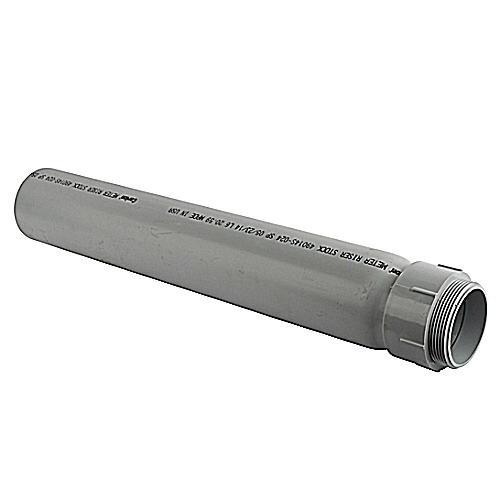 Thomas & Betts E954NXX Gray PVC Slip Meter Riser 4 Inch Carlon®