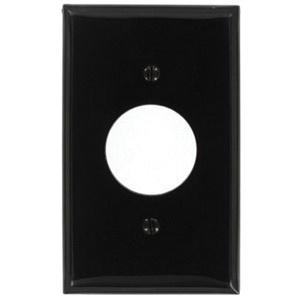 Leviton 80704 E Thermoplastic Nylon Standard Size 1 Gang Wallplate