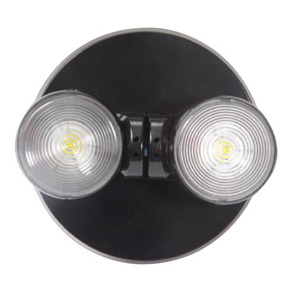 Cooper Lighting Apwr2bk 2 Head Led Remote Emergency 3 6 Volt Dc Sure Lites