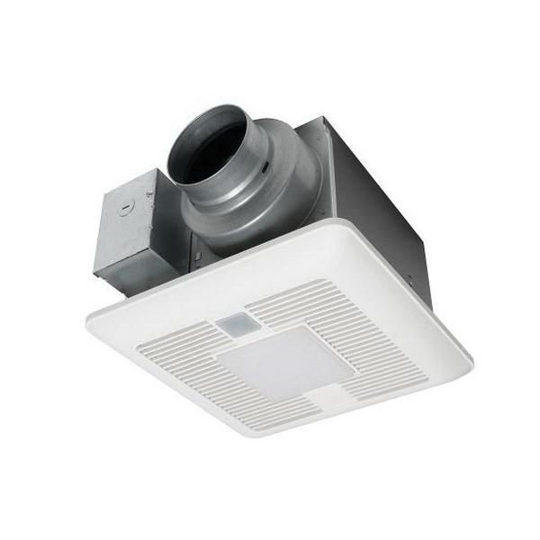 Panasonic Whisperrecessed Led Bathroom Fan With Led Light 80 Cfm: Panasonic FV-0511VQCL1 Ventilation Fan With LED Light 120