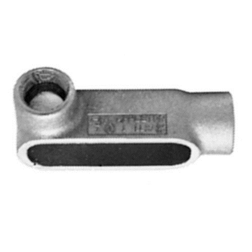 Emerson OZGLL37 Grayloy Iron LL Type Conduit Outlet Body 1 Inch OZ Gedney
