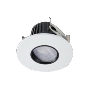 Cooper Lighting Ml4d09fl927 Dimmable Ic Non 4 Inch Led Recessed Pinhole Down Light 120 277 Volt Ac 90 Cri 2700k 900 Lumens Halo