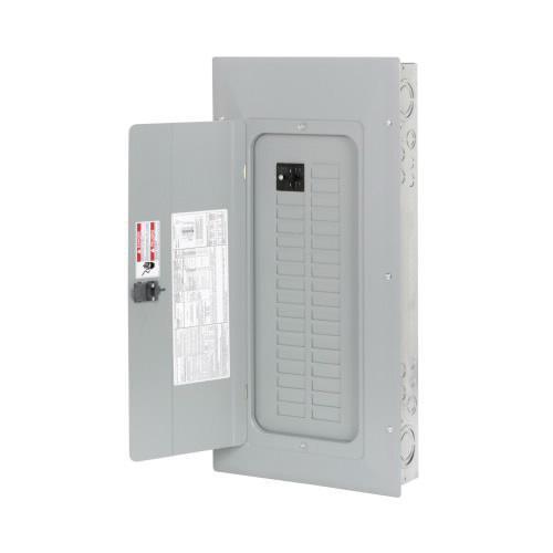 Eaton BR3030BC100 1-Phase 3 Wire Main Circuit Breaker Load Center 30 Circuits 120/240 Volt AC 100 Amp NEMA 1