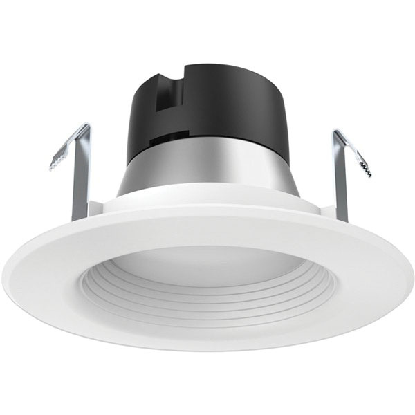 new concept b0575 2add1 Satco S9729 Dimmable 4-Inch LED Retrofit Down Light 12-Volt Round Frosted