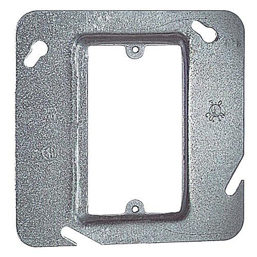 Thomas & Betts 72C13 Pre-Galvanized Steel 1-Gang Single Device Box Cover 4-11/16 Inch x 4-11/16 Inch x 1/2 Inch Steel City®
