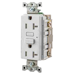 hubbell wiring gft15w tamper resistant gfci receptacle 15 amp 102 wiring receptacle over hubbell wiring gft15w tamper resistant gfci receptacle 15 amp 102 132 volt ac