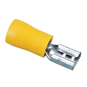Burndy QP10F25X03D Quick Disconnect 12-10-AWG Yellow on